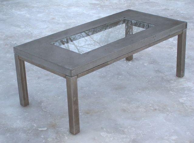 Curt Pieper, Concrete Table